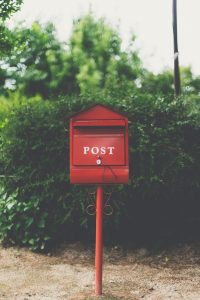 Red post box - Email included in Inderly IT support services