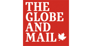 The Globe and Mail logo - Toronto IT company Inderly was featured on November 7, 2019